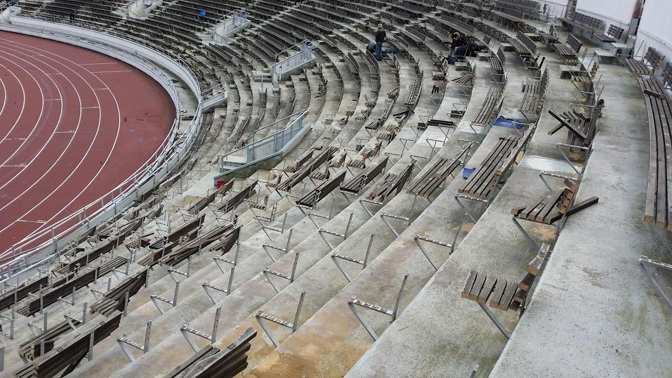 Olympiastadionin penkit