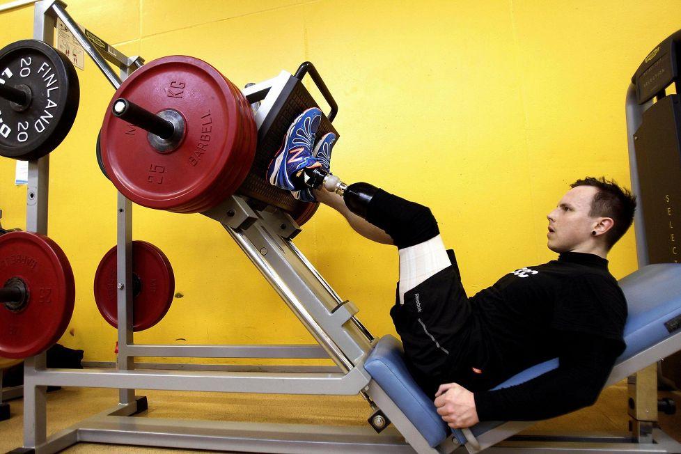 Mati Suur Hamari Valmistautui Sotshin Paralympialaisiin Maaliskuussa