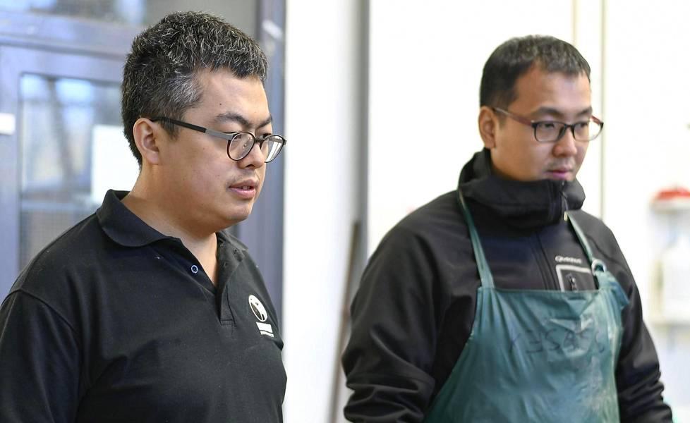Dinghao Panin ja Zachin tie Seinäjoelle alkoi siitä, kun ensiksi mainittu ihastui Mallaskosken Panimon oluiden pakkauksiin Tokion ruoka- ja juomamessuilla.
